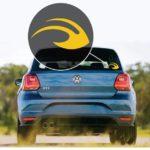 Michigan Wolverines Helmet Window Decal Sticker