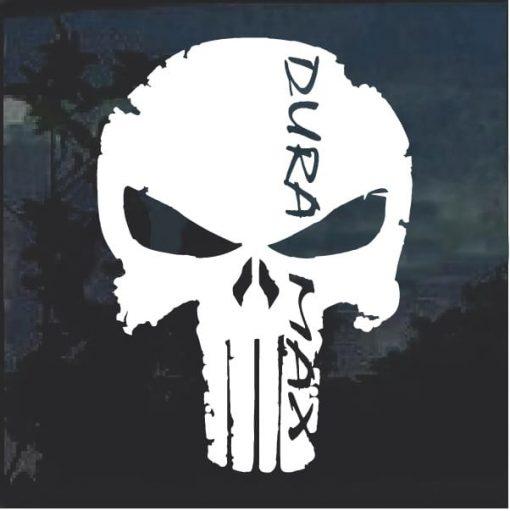Duramax Punisher Decal Sticker