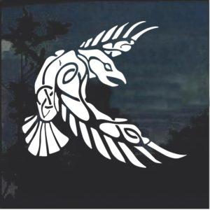 In Odin We Trust Thor Viking Window Decal Sticker