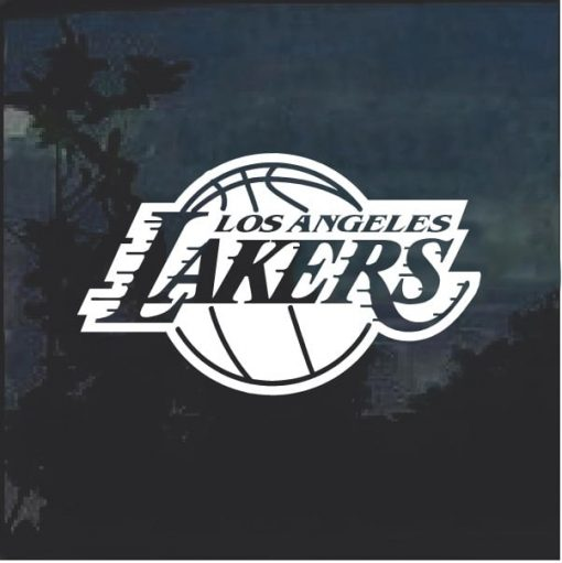 Los Angeles Lakers NBA Decal Sicker