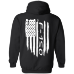 Ford F-150 Weathered Flag Hoodie