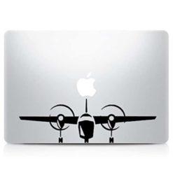 Airplane Laptop Vinyl Decal Sticker