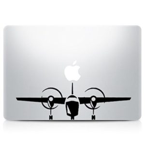 Airplane Laptop Vinyl Decal Sticker