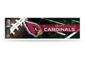 Arizona Cardinals Bumper Sticker Officially Licensed NFL