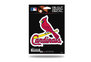 Arizona Cardinals Window Decal Sticker Officially Licensed MLB