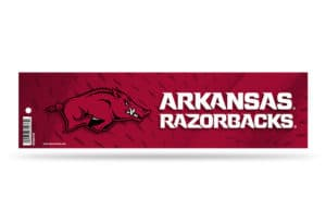 Arkansas Razorbacks Bumper Sticker Officially Licensed