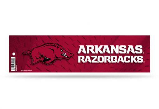 Arkansas Razorbacks Bumper Sticker Officially Licensed
