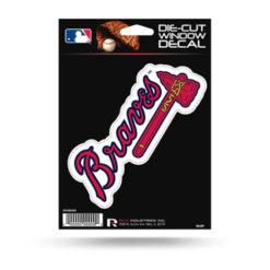 Atlanta Braves Window Decal Sticker Officially Licensed MLB