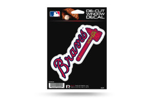Atlanta Braves Window Decal Sticker Officially Licensed MLB