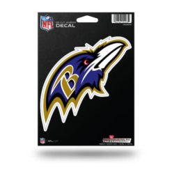 Baltimore Ravens Window Decal Sticker Officially Licensed NFL