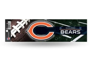 Chicago Bears Bumper Sticker Officially Licensed NFL