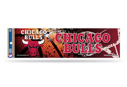 Chicago Bulls Bumper Sticker NBA Officially Licensed