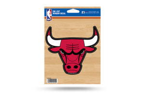 Chicago Bulls Window Decal Sticker NBA Officially Licensed