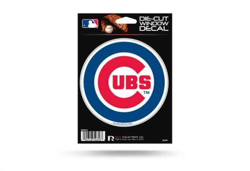 Chicago Cubs Window Decal Sticker Officially Licensed MLB