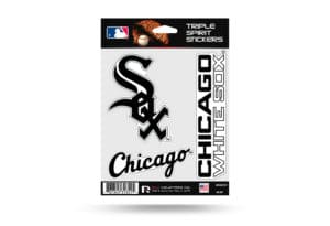 Chicago White Sox Window Decal Set Sticker Officially Licensed MLB