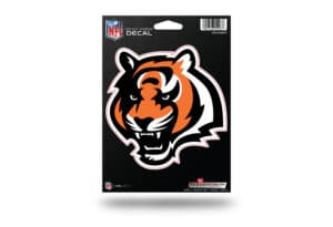 Cincinnati Bengals Window Decal Sticker Officially Licensed NFL
