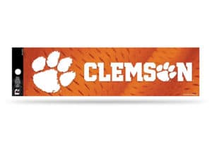 Clemson Tigers Bumper Sticker Officially Licensed