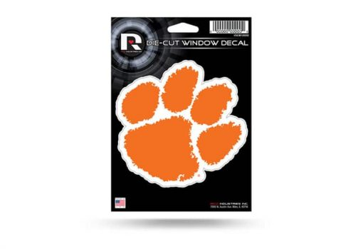 Clemson Tigers Window Decal Sticker Officially Licensed