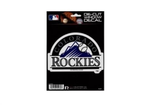 Colorado Rockies Window Decal Sticker Officially Licensed MLB