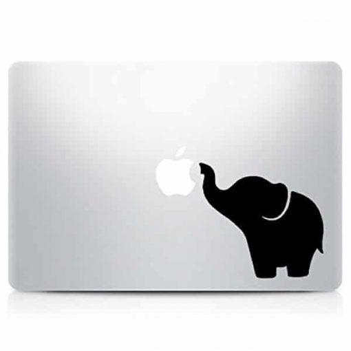 Cute Elephant Laptop Vinyl Decal Sticker