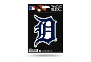 Detroit Tigers D Window Decal Sticker Officially Licensed MLB