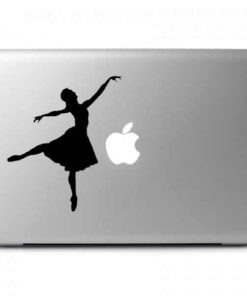 Dancer Ballerina Laptop Decal Sticker