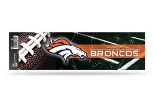 Denver Broncos Bumper Sticker Officially Licensed NFL