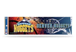 Denver Nuggets Bumper Sticker NBA Officially Licensed