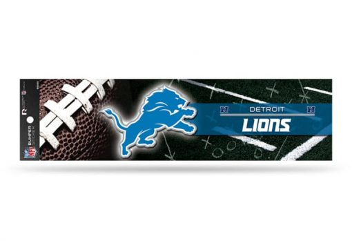 Detroit Lions Bumper Sticker Officially Licensed NFL