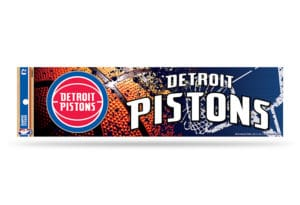 Detroit Pistons Bumper Sticker NBA Officially Licensed