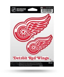 Detroit Red Wings Window Decal Sticker Set Officially Licensed