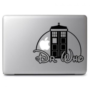 Dr who Laptop Decal Sticker
