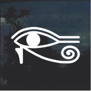 Egyptian All Seeing Window Decal Sticker