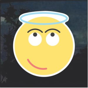 Emoji Angel Halo Decal Sticker