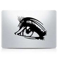 Eye Lashes Laptop Decal Sticker