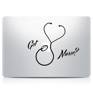 Got Nurse Laptop Decal Sticker