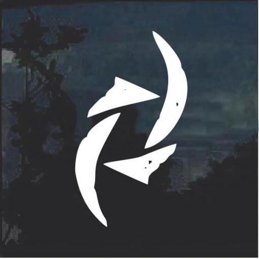 Halestorm Symbol Band Decal Sticker