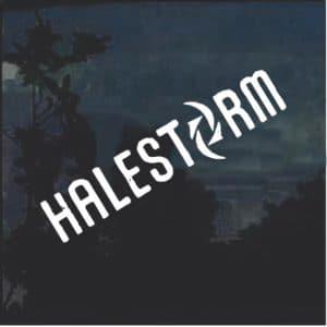 Halestorm Symbol Band Decal Sticker a2