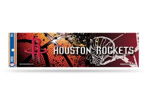 Houston Rockets Bumper Sticker NBA Officially Licensed