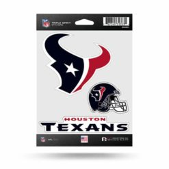 Houston Texans Window Decal Sticker Set Officially Licensed NFL