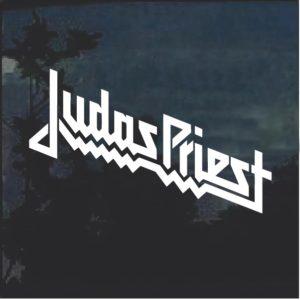 Judas Priest Band Window Deal Sticker
