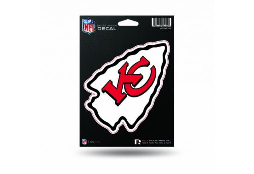 Kansas City Chiefs Window Decal Sticker Officially Licensed NFL
