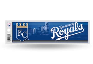Kansas City Royals Bumper Sticker Officially Licensed MLB