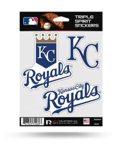 Kansas City Royals Window Decal Set Sticker Officially Licensed MLB