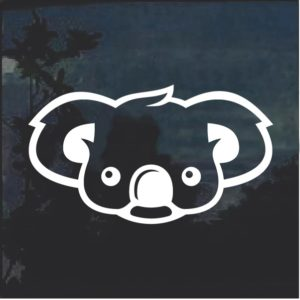 Koala Bear Window Decal Sticker