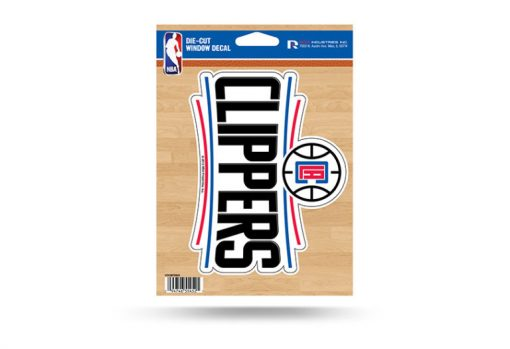 LA Clippers Window Decal Sticker NBA Officially Licensed