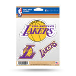 LA Lakers Los Angeles Window Decal Sticker Set NBA Officially Licensed