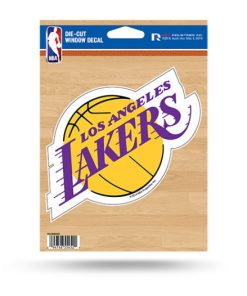 LA Lakers Window Decal Sticker