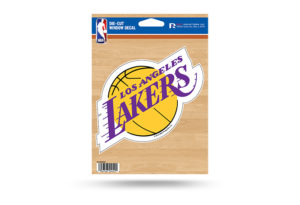LA Lakers Window Decal Sticker