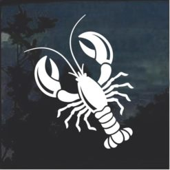 Lobster Window Decal Sticker